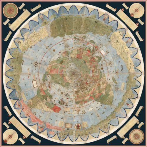 Secretele uimitoare ale unei harti antice